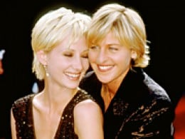 1997- 2000 Ellen was in a relationship with Anne Heche   image complements of www.people.com
