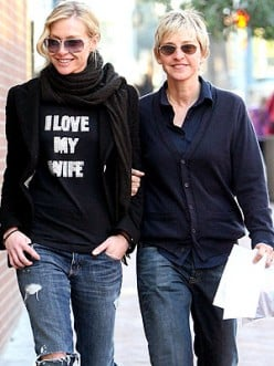 Portia sporting an I Love My Wife t-shirt while strolling the walk in Beverly Hills. Image complements of http://1.bp.blogspot.com