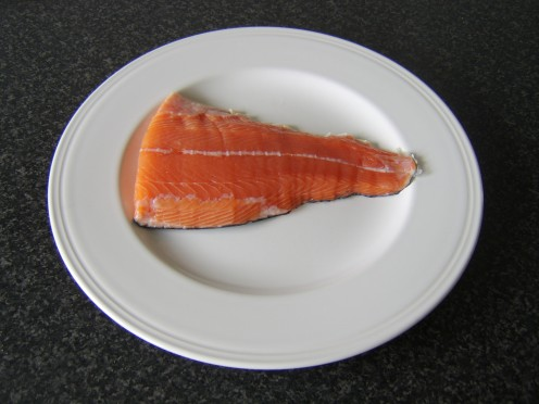 Salmon Tail Fillet