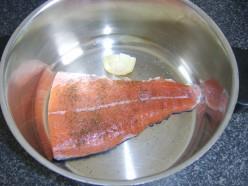 Seasoned Salmon Tail Fillet