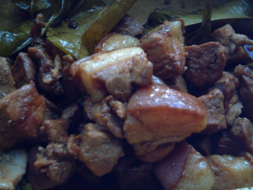 TRAVEL MAN'S PORK ADOBO
