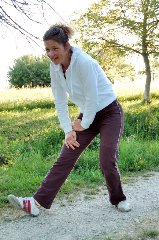 Weight bearing exercises are good for the post menopausal women to lower their chances of getting Osteoporosis.