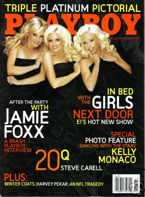 November 2005 Issue of Playboy