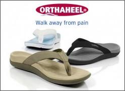 Scholl Orthaheel Sandals For Men