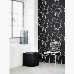 ferm Living 101 black and white wallpaper