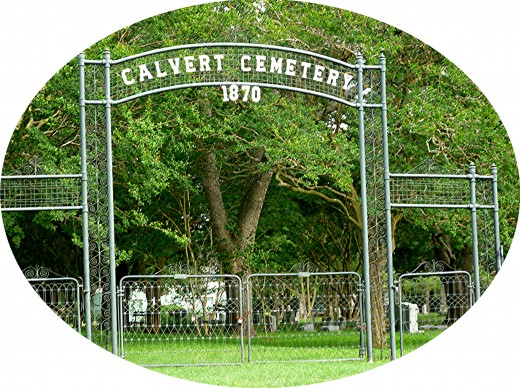 Calvert, Texas Cemetery