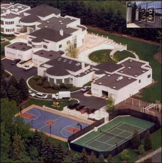 celebrity-houses-michael jordan