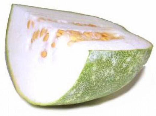 Ash Gourd inside