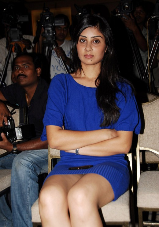 Bhanu - at the Telugu movie Varudu success meet
