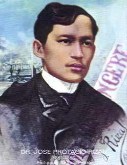 JOSE RIZAL, PHILIPPINES'NATIONAL HERO (Photo courtesy of http://www.laguna.net/)
