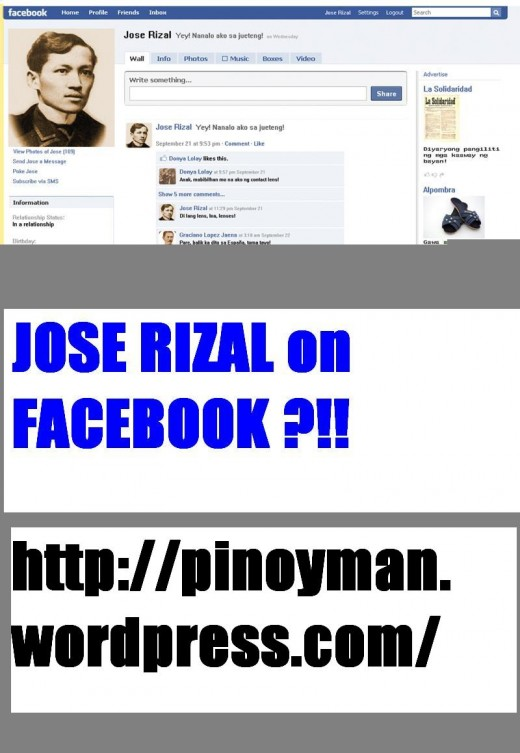 RIZAL ON FACEBOOK?!!! (Photo courtesy of http://donhey.files.wordpress.com/)