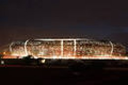 Soccer City in Johannesburg, South Africa