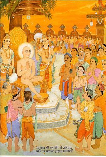 A Jain painting