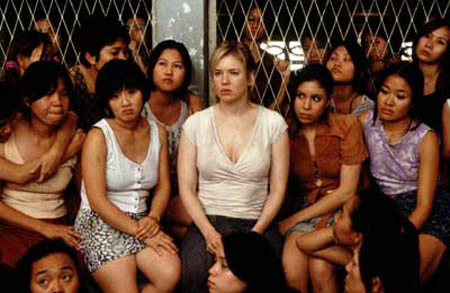 "Bridget Jones in Thailand's prison scene from the movie ""Bridget Jones: The Edge of Reason."""