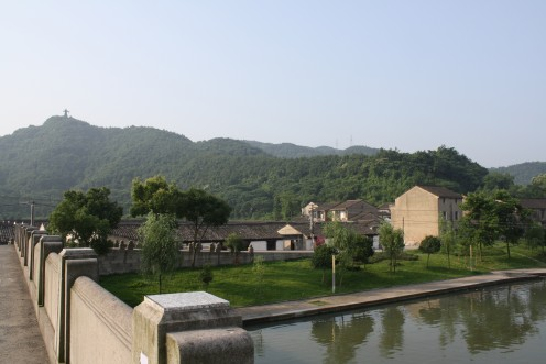 Village under the shadow of Da Yu