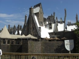 Hogsmeade village merchandise at Harry Potter land