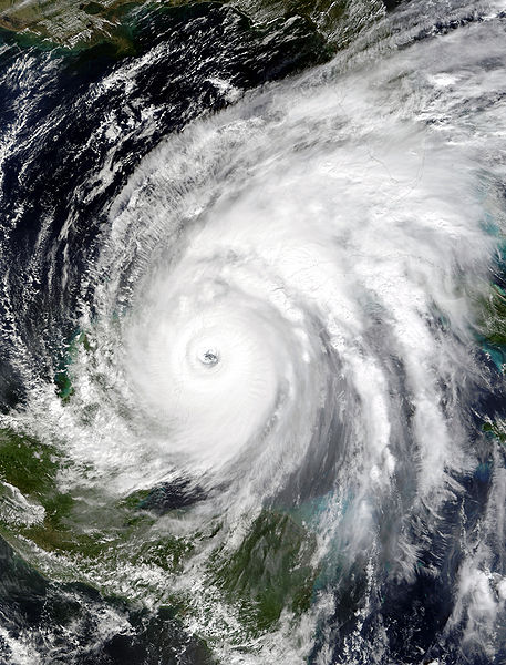 Hurricane Wilma (2005) was a Category Five hurricane for a brief time and the strongest hurricane ever recorded.