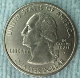 2001D Rhode Island Statehood Quarter Obverse.