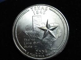 2004D Texas Statehood Quarter Reverse Doubled Die error.