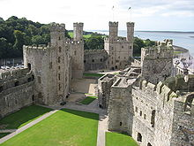 Built by Edward 1st as his seat of power in Wales