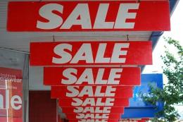 It's a sale! / Source: http://www.flickr.com/photos/timparkinson/930660427/