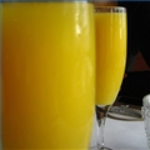 Mimosas are great for a Sunday brunch. Photo: Wikimedia Commons