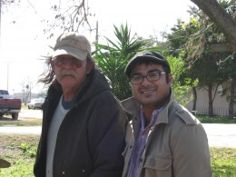 My ol' man and me. This man is the most awsome dad alive!