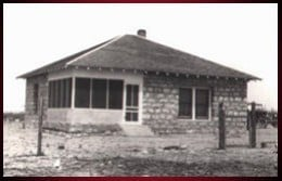 The house my parents built themselves at the headquarters ranch in the 1920s