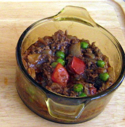 Minced Stew is easy to Freeze