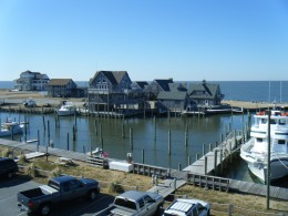 The State Ferry Boats are free and they leave from right near this spot on the southern tip of Hatteras Island.