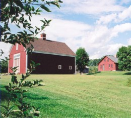 A Barn Near Londonderry New Hampshire