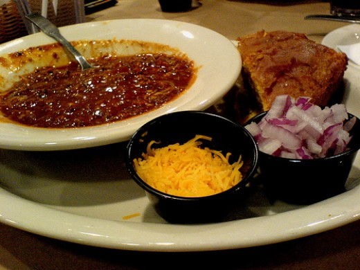 Delicious chili recipe photo: hamron @flickr