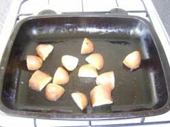 Roasting the Potatoes