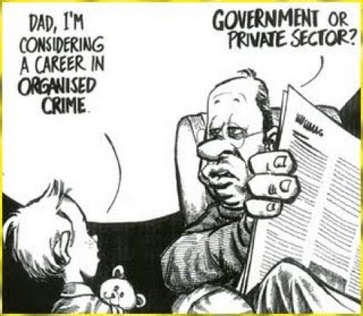 This cartoon acknowledges a truth that is contemporary society.