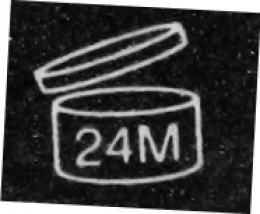Expiration date symbol.