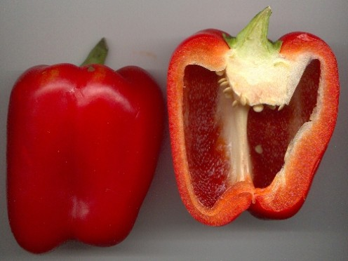 Red Pepper, love these! These add great color and flavor to this recipe.