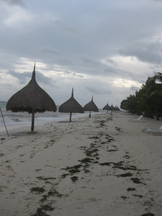 The white sand beach at the Bohol Beach Club