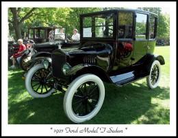 "A 1921 MODEL ""T"" FORD SEDAN"