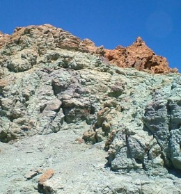 Tenerife rocks or roques and canary island islets - Azulejos tenerife ...