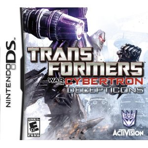 Transformers War for Cybertron Top Ten DSi Games