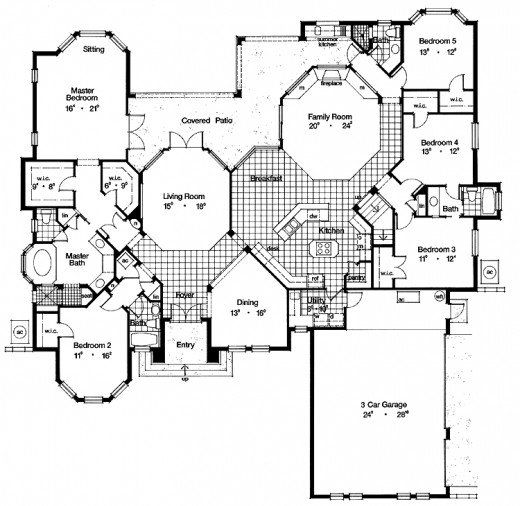 Find your dream home floor plans online House plans online
