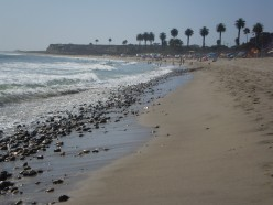 San Onofre State Beach, San Diego County.