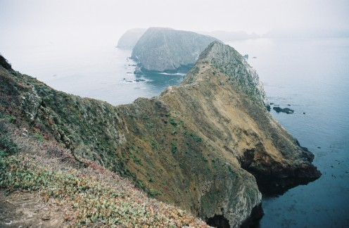 East Anacapa Island, Channel Islands National Park.