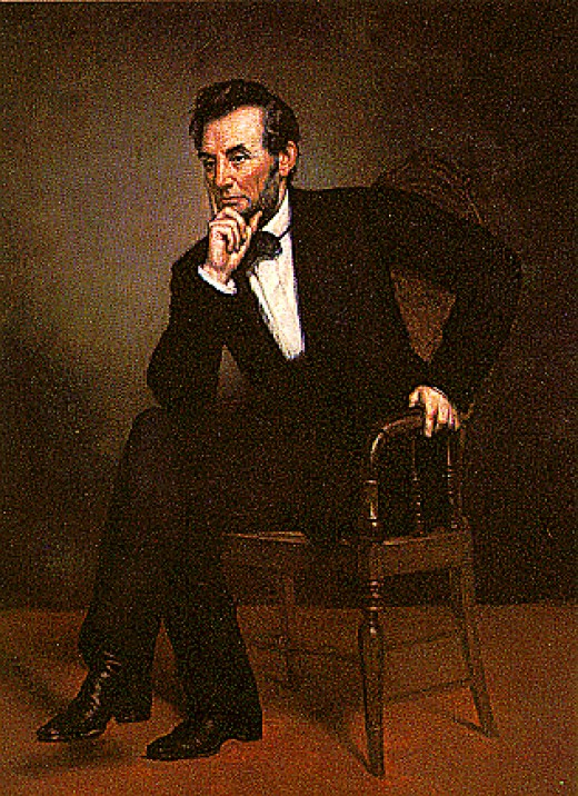 Abraham Lincoln--Honored in Mexico for his part in aiding the fight against French rule
