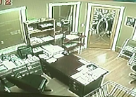 Picture of a video from a Security Camera with a  CCD image sensor