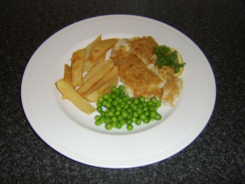 Fish, Chips and Peas