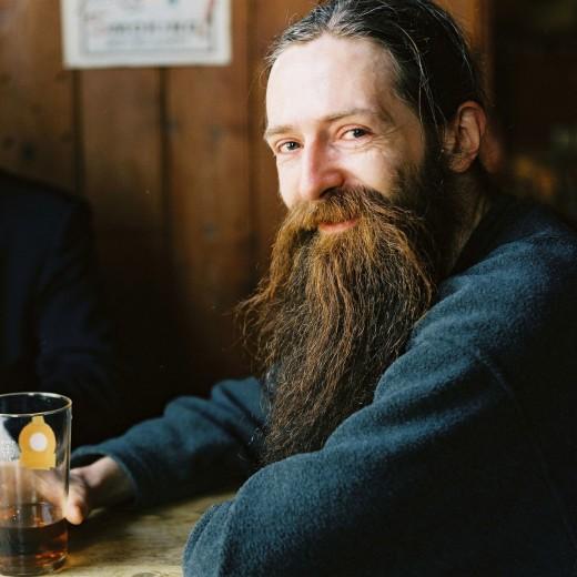 This de Grey guy loves beer.