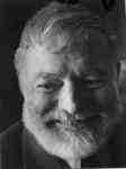"Much admired and reviled.  there was only one ""Papa"" Hemingway"