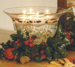 Floating Candles for Christmas