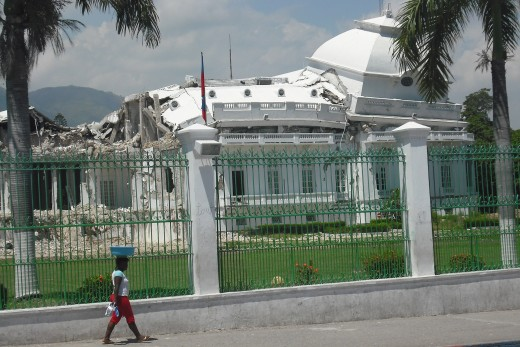 The Beautiful National Palace in ruins